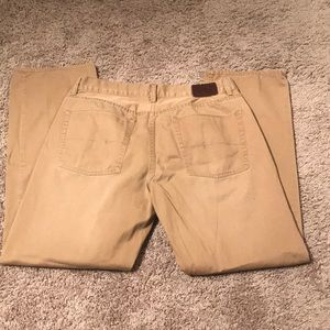 LIKE NEW — POLO RALPH LAUREN CHINOS SIZE 33x30!